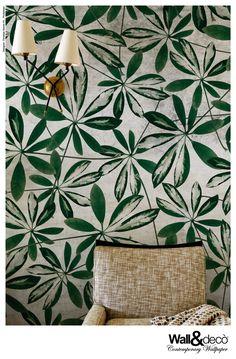 papier peint d coration tendance salon delfour charlotte. Black Bedroom Furniture Sets. Home Design Ideas