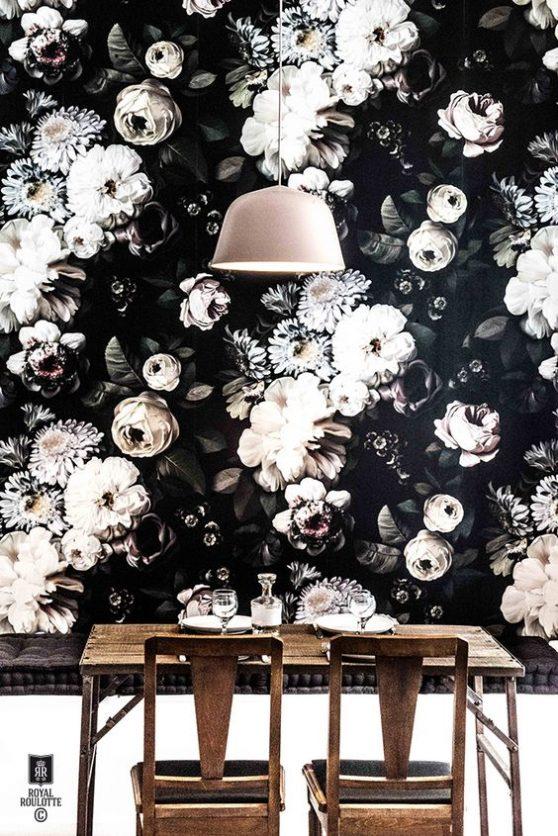 Le grand retour du papier peint dans nos interieurs