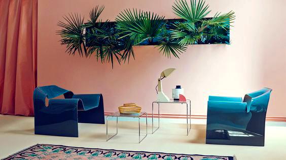 Blog tendance am nagement d coration int rieur rose salon for Decoration interieur blog