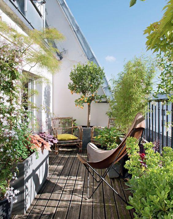 Terrasse Jardin Balcon Comment Amnager Son Exterieur   Delfour