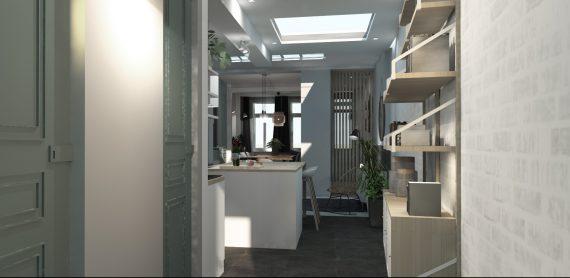 Rénovation Tourcoing Planche 3D
