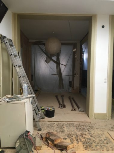 Rénovation Tourcoing début des travaux