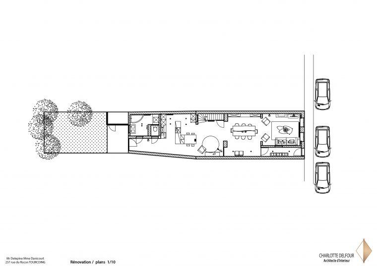 Rénovation Tourcoing Plan