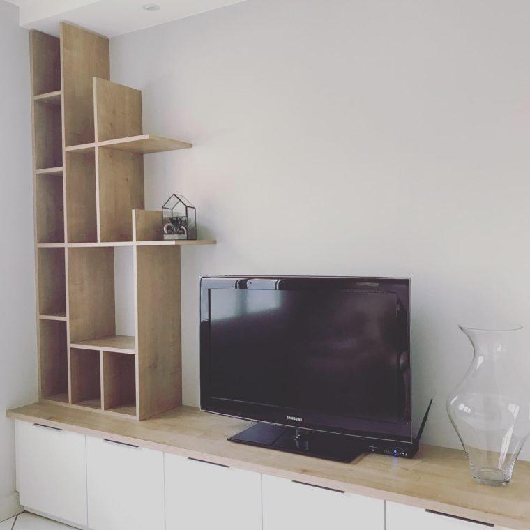 meuble Télévision bibliothèque